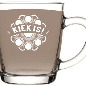 Kiekis theeglas met Zeeuwse knop