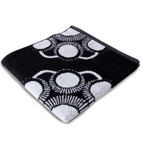 Hand keuken doek Zeeuwse knop zwart foto 2