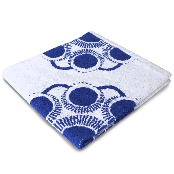 Handdoek Zeeuwse knop blauw foto 2