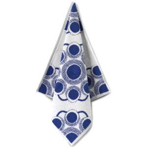 Handdoek Zeeuwse knop blauw